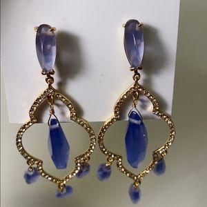 Kate Spade NY Blue Lantern Gems Chandelier Earring